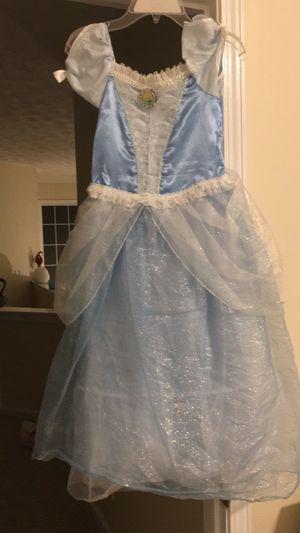 Cinderella, Ariel, rapunzel, tianna, another Cinderella size 7/8 for Sale in Milton, GA