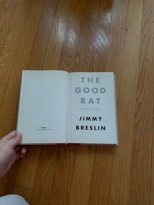 The Good Rat by Jimmy Breslin for Sale in Redondo Beach, CA