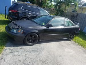 99 Honda Civic ex auto for Sale in Biscayne Park, FL