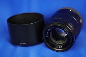 Sony E 50mm f/1.8 OSS Lens (Black) for Sale in Washington, DC