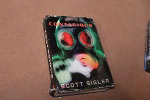 Contagious by Scott Sigler Hardcover Book for Sale in Elk Grove, CA