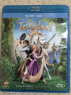 Tangled Blu Ray Excellent Condition for Sale in Westminster, CA