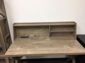 Desk with USB Port, Hazelnut for Sale in Downey, CA
