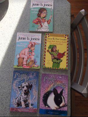 Junie B. Jones / magic puppy and bunny books for Sale in Grand Rapids, MI