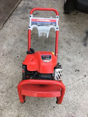 Troy bilt pressure washer for Sale in Niles, IL