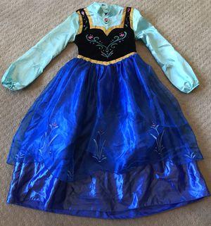 Disney Parks deluxe Frozen Ana dress Halloween costume girls size 7 8 for Sale in Marysville, WA