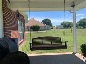 Wooden back porch Swing for Sale in Grand Prairie, TX