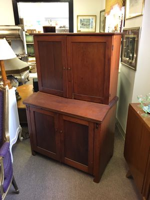 Antique wooden desk cabinet, over 100 years old for Sale in Manalapan Township, NJ