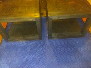 2 End tables for Sale in Stone Mountain, GA