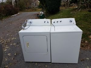 Kenmore washer dryer used good condition can deliver local 25 for Sale in Ephrata, PA