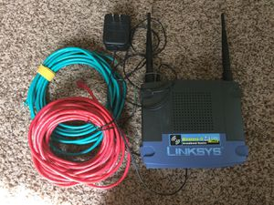 Linksys Wireless-G Broadband Router for Sale in Columbus, OH