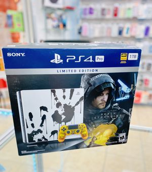 PS4 Pro 1 TB limited edition for Sale in Kissimmee, FL