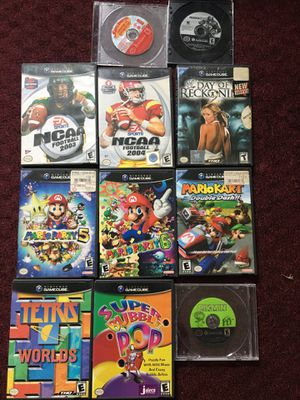 Mario party pikmin mariokart GameCube games for Sale in Boston, MA