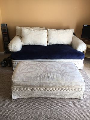Sofa, love seat, chair and ottoman for Sale in Upper Marlboro, MD