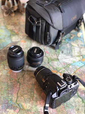 Nikon D3200 Camera DSLR Bundle deal for Sale in Wolcott, CT