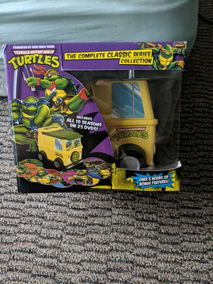 Complete Teenage mutant ninja turtles DVD series for Sale in Mountlake Terrace, WA