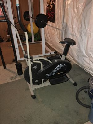 Elliptical with bike seat for Sale in Columbus, OH