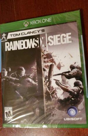 New Xbox One Tom Clancy's Rainbow six for Sale in Houston, TX