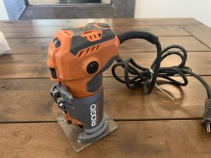 5.5 Amp Corded Compact Router for Sale in Oklahoma City, OK
