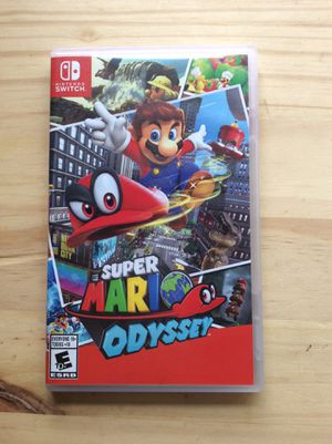Super Mario Odyssey [Nintendo Switch Game] for Sale in Los Angeles, CA