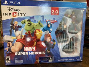 PS4 Disney Infinity Marvel Super Heroes complete set for Sale in Chino Hills, CA