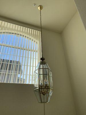 chandelier hanging light for Sale in Newark, CA