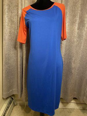 Blue & Orange LuLaRoe Dress for Sale in Fairfield, CT