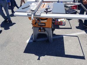 Rigid table saw for Sale in San Diego, CA