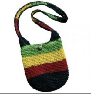 Rasta Straw Shoulder Bag for Sale in Los Angeles, CA