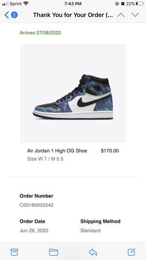 Nike Jordan 1 High OG - Tie Dye for Sale in Queens, NY