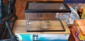 10 gal. Tank with stand for Sale in Raleigh, NC
