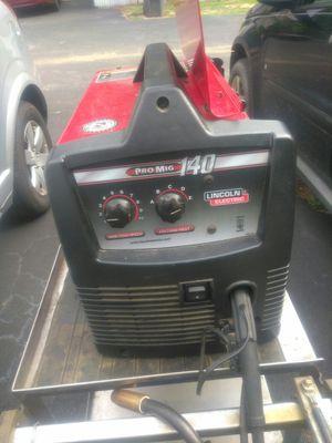 Lincoln Electric Pro Mig 140 for Sale in Hiram, GA