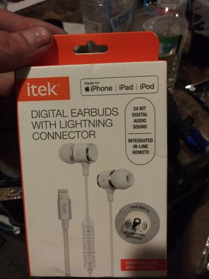 Itek digital earbuds for Sale in Cranston, RI