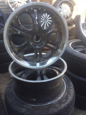 "22"" rims 6 lug 6x5.5 for Sale in Jurupa Valley, CA"