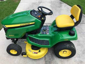 John Deere X354 Riding Lawn Mower w/ 4 wheel steering - $3,200 for Sale in Spring, TX