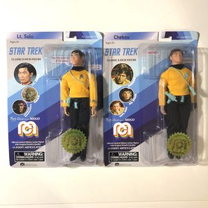 """Star Trek Mego Spock Sulu numbered 8"""" figures action Doll collectible for Sale in Phoenix, AZ"""