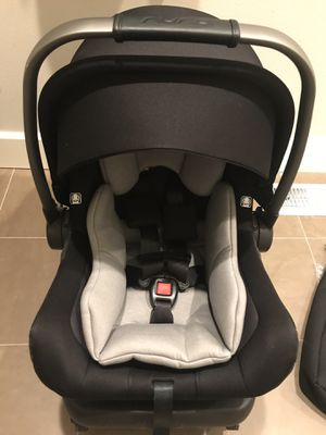 Nuna pipa lite lx infant car seat and base for Sale in Auburn, WA