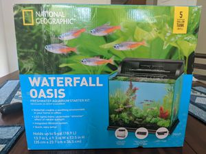 Fish Tank/ Aquarium 5 Gallon Brand New for Sale in Melrose, TN