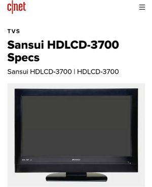 37 Inch LCD TV $50 for Sale in Whittier, CA