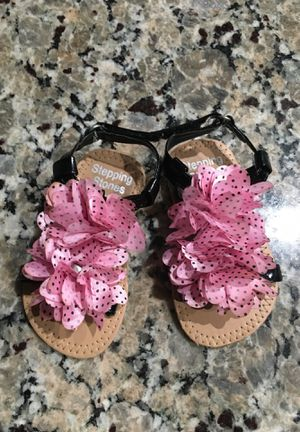 Baby sandals size 3 for Sale in Woodlake, CA