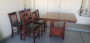 Kitchen table and 6 chairs for Sale in Apache Junction, AZ