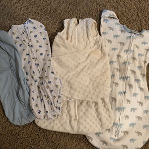 Bundle of swaddles halo, swaddleme newborn, amazing baby for Sale in Henderson, NV
