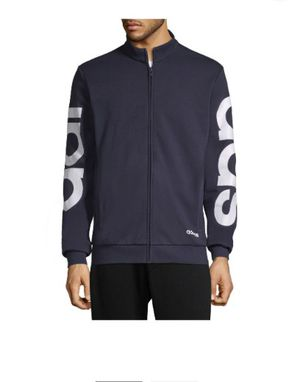 adidas Men's French Terry Lightweight Track Jacket Size L for Sale in Cleveland, OH