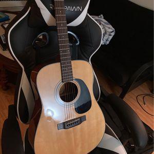 Acoustic Guitar With Case for Sale in La Grange, IL