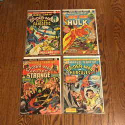 Marvel Team-Up Bronze Age Lot #17, 18, 21, 28 (Spider-man Dr Strange) for Sale in San Carlos,  CA