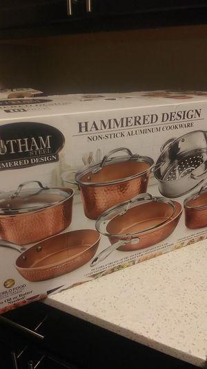 Gotham copper pot set for Sale in Issaquah, WA