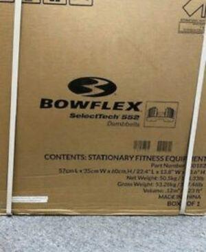 Bowflex Selecttech 552 Dumbbells for Sale in Windsor, CT