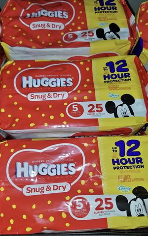 Huggies sizes 1-6 $6 if u purchase 5 or more $5,I also have pull ups @$7 for Sale in Port St. Lucie, FL