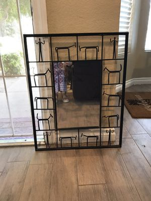 Accent Wall Mirror Black for Sale in Riverside, CA