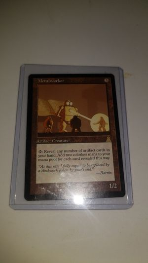 Magic The Gathering - Metalworker for Sale in Quincy, IL